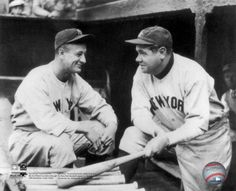 Lou Gehrig  Babe Ruth Photograph