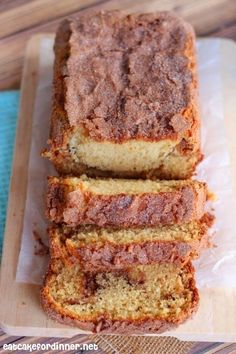 Eat Cake For Dinner: Amish Friendship Cinnamon Bread Alternative {without a starter}