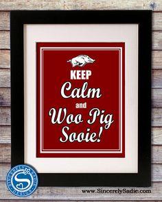 University of Arkansas Razorbacks Keep by SincerelySadieDesign