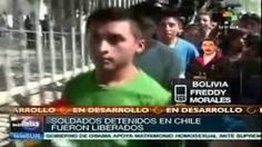 Liberados los tres soldados bolivianos detenidos en Chile