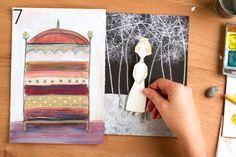 Paper Dolls Art Tutorial. from Carla Sonheim: www.carlasonheim.com