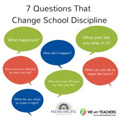 paragraph on how to maintain discipline in school