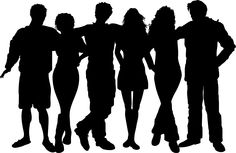 people silhouettes_11