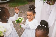 Flowergirls from an Art and Sculpture Inspired Woburn Abbey Wedding | Photography by http://www.claretamim.co.uk/
