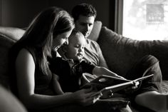 Indoor family photography