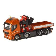 WSI 04-1167 Iveco Stralis Truck With Fassi1100 Crane