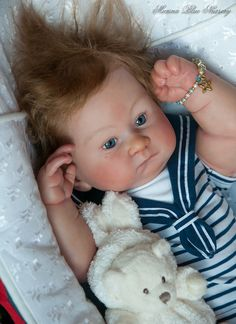 55 Best Marina Blue Nursery Reborn Dolls Images In 2018