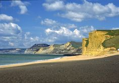 The Jurassic Coast, Burton Bradstock, Dorset, England