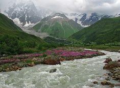 Inguri valley