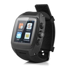 IMacwear M7 Unlocked Watch Cell Phone Android 4.2.2 OS MTK6572 Cortex A7 Dual-core 4GB ROM,GSM / WCDMA, 5MP Camera,WiFi 802.11 b/g/n,Heart Rate Monitor,Waterproof IP67,GPS Black. With the latest Android 4.2.2 OS which supports most of popular applications.Support Wifi, G-sensor, GPS, Bluetooth 4.0, mic, hands free speaker, Ebook, Email, messaging, wallpapers, compass, calendar, calculator, clock, camera, google play store and so on. trong performance MTK6572 dual-core processor, with...