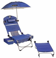 Tactical-Beach-Party-Lounge-Chair-w-Cooler-Umbrella-Bag-Speakers-Wheels