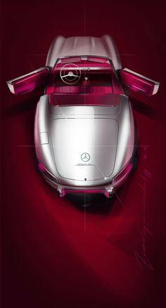 Mercedes-Benz 300 SL | Denys Zvenigorodskyy