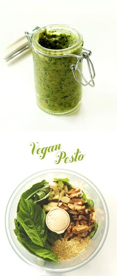 Easy Vegan Pesto Rec