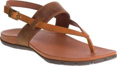 957aefa2e7c Women's Chaco Maya II Thong Sandal - Rust Full Grain Leather with FREE  Shipping &