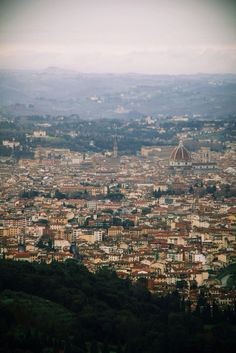 View of Florence from Fiesole, Italy