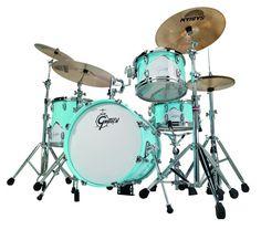 Gretsch DrumsRenown 57 BOP 4-Piece Shell PackMotor City Blue