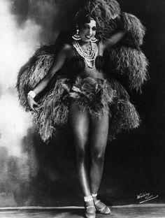 Joséphine Baker jambes