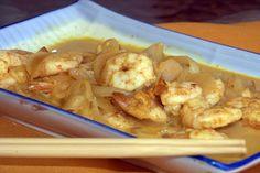 Mis Recetas de Cocina: Gambas al aroma de vainilla. Shrimp, Meat, Food, Vanilla, Cooking Recipes, Essen, Meals, Yemek, Eten