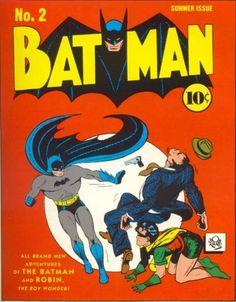Batman #2 Wherein we see the true nature of Batman and Robin. They're bullies.