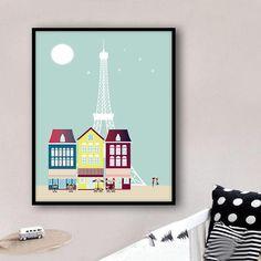 Paris Laminas Paris poster Paris laminas a3 laminas