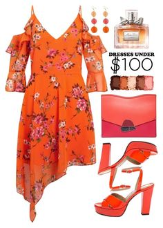 """""""Under $100: Summer Dresses"""" by amchavesj-1 ❤ liked on Polyvore featuring Sonia Rykiel, Miss Selfridge, Proenza Schouler, NYX, Christian Dior and under100"""