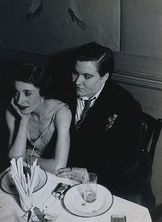 lesbian couple at Le Monocle 1932. #lesbian #butch #femme