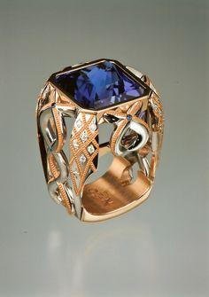 Zoltan David  Unique Couture Ring
