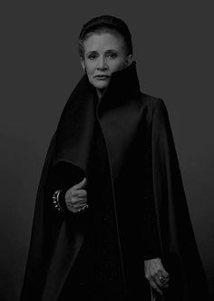 """Carrie Fisher on the cover of Vanity Fair, Summer 2017. """