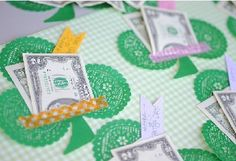 St. Patrick's Day cute money holders featured on Katherine Marie Photography.