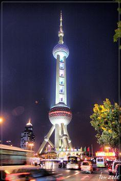 Shanghai - Oriental Pearl Tower by shane.gooseman, via Flickr