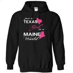 JustHong002-002-Maine GIRL - #tee itse #harvard sweatshirt. GET YOURS => https://www.sunfrog.com/Camping/1-Black-79102560-Hoodie.html?68278