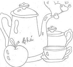 artesanatoamoreco.blogspot.com: Coelhinha para Pintura em Tecido