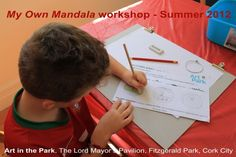 Kids workshops facilitated by Art in the Park artist resident Patricia Gurgel-Segrillo: Art In The Park, Park Art, Kids Workshop, Cork City, Mandala, Lord, Education, Artist, Crafts