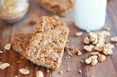 Crunchy Oatmeal Peanut Butter Oats 'n Honey Bars