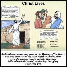 Jesus Christ Lives!