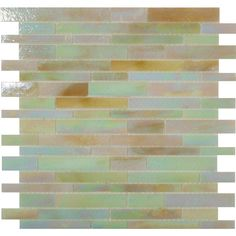 """Sheet size: 12"""" x 12""""     Tile Size: Random Bricks     Tiles per sheet: 72     Tile thickness: 1/8""""     Grout Joints: 1/8""""     Sheet Mount: Mesh Backed     Sold by the…"""