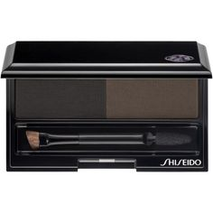 Shiseido Eyebrow Styling Compact , Deep Brown (96 BRL) ❤ liked on Polyvore featuring beauty products, makeup, eye makeup, beauty, eyes, maquiagem, deep brown, eyebrow makeup, eyebrow cosmetics and eye brow makeup