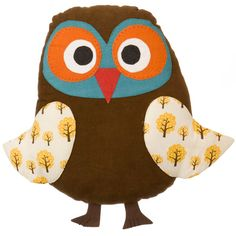 Owl cushion - but could be a teddy!