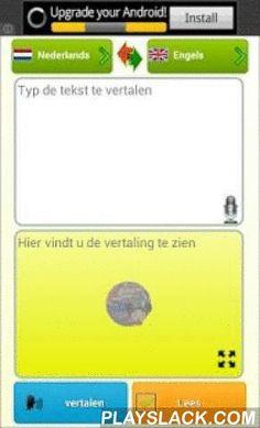 """Interpreter- Translator Voice  Android App - playslack.com ,  """"De tolk"""" verwerft tekst door uw stem of door het toetsenbord in real time, vertaalt het en leest het voor u in een van de 60 beschikbare talen.Belangrijkste kenmerken: 1 - Luister Herkent wat je zegt door de geavanceerde vocale herkenning software. 2 - Vertaling in meer dan 60 talen Onbeperkt en directe online vertaling. 3 - Lees tekst Automatische gesproken vertolking naar de gewenste taal. 4 - Toetsenbord gebruik In tekstveld…"""