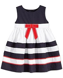 Blueberi Boulevard Baby Girls' Nautical Stripe Dress