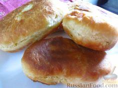 Фото приготовления рецепта: Самое правильное кефирное тесто для жареных пирожков - шаг №8
