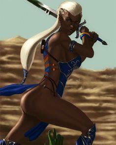 Ancient World Warrior Women Sexy Black Art, Black Love Art, Black Girl Art, Black Is Beautiful, Art Girl, Fantasy Women, Fantasy Girl, Black Characters, Female Characters