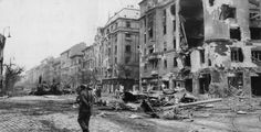 Baross Strasser in the centre of Budapest showing the devastation caused by the anti-communist battle for freedom. Get premium, high resolution news photos at Getty Images Hungary, Budapest, Street View, Painting, Image, Art, Craft Art, Paintings, Kunst