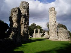 Ruins of Bury St Edmunds Abbey, Suffolk - in 1214, the barons met here in secret and swore to make King John sign Magna Carta (which he did at Runnymede the following year)