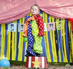 child Clown  Costume Kids clown by MyPurplePrincessShop on Etsy, $53.00