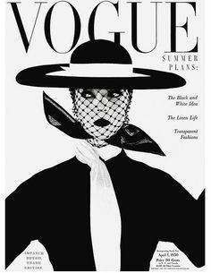 Portadas de Vogue con Jean Patchett 1950-51