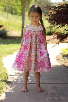 adorable girls dress pattern | Girl. Inspired.