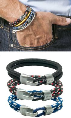 DUAL CORD BRACELETS  - Comfortable and stylish bracelet designed with two colorful nylon cords that are loaded with negative ions and two small but powerful magnets embedded into the durable metal hook clasp. This bracelet can go anywhere…ocean, running trails, golf course, cycling, or to the office!