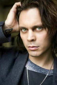 Ville Valo <I love his 'bitch' expressions, especially in their music videos.