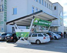 Pensilauto - Lagerhaus Austria - Aluminium carport